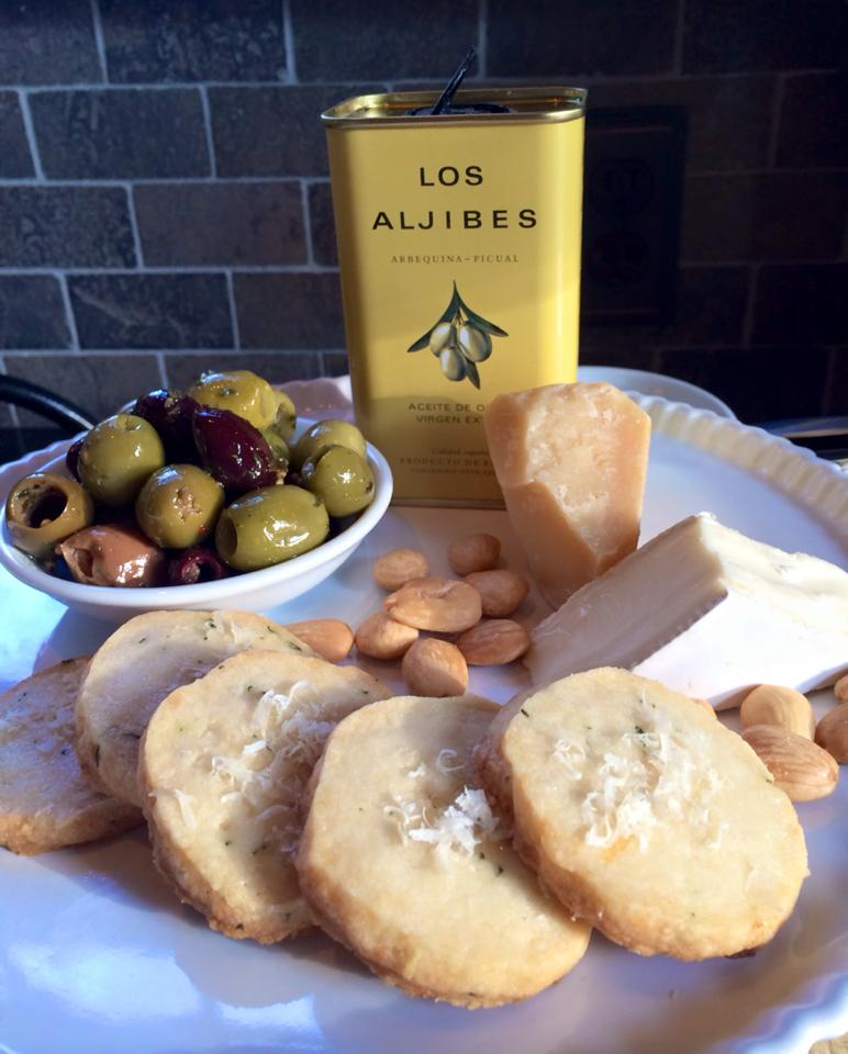 ... savory offerings too! Check out these spiced nuts and parmesan-thyme